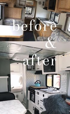 3 month rv renovation on toyota dolphin Rv Interior Remodel, Camper Renovation, Airstream Interior, Vintage Camper Interior, Camper Diy, Rv Campers, Teardrop Campers, Teardrop Trailer, Remodel Caravane
