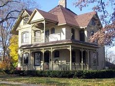 Victorian homes in wisconsin | Victorian circa 1890, Stoughton, WI | Dream House