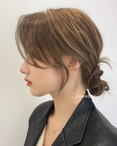 Modern Hairstyles, Pretty Hairstyles, Pelo Guay, Medium Hair Styles, Curly Hair Styles, Haircuts Straight Hair, Asian Short Hair, Shot Hair Styles, Hair Flip