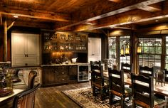 Trout Lake 2 Kitchen/Dining Room - traditional - dining room - minneapolis - Lands End Development - Designers & Builders