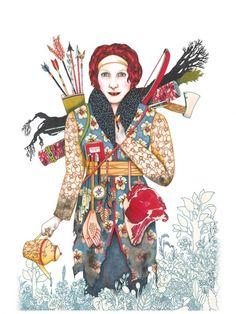 Artist UP - Article - L'imaginaire fantasmagorique de Emmanuelle Houdart