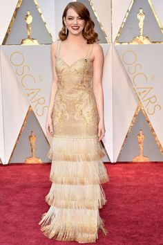Oscars 2017 | Emma Stone in Givenchy Haute Couture by Riccardo Tisci with Tiffany & Co. jewellery