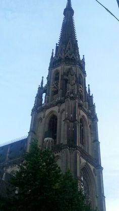 Neuer Dom Dom, Notre Dame, Barcelona Cathedral, Building, Travel, Linz, City, Viajes, Buildings