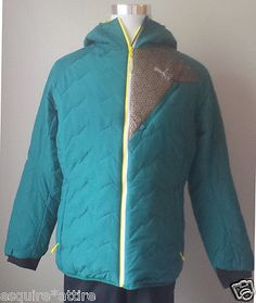 Coats , Jacket: #PUMA men size XL full zip jacket with hood NWT (Retail $220) withing our EBAY store at  http://stores.ebay.com/esquirestore
