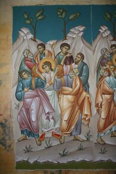 Byzantine Icons, Orthodox Icons, Ikon, Projects To Try, Interiors, Architecture, Painting, Image, Fresco