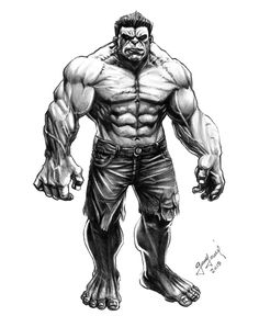 #Hulk #Fan #Art. (The Hulk) By: Germán Torres. (THE * 5 * STÅR * ÅWARD * OF: * AW YEAH, IT'S MAJOR ÅWESOMENESS!!!™)[THANK Ü 4 PINNING!!!<·><]<©>ÅÅÅ+(OB4E)