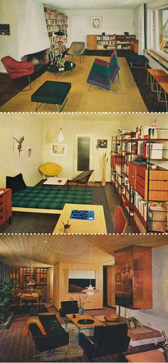 Mid-Century Modern Blog » Ameublement et Decoration Modernes, 1961