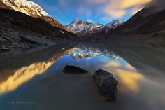 Crawling Heart by Christian Lim on 500px.  Mount Cook, New Zealand.