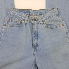 Vtg Levis 512 High Waist Mom Jean Slim Fit Taper Leg Stone Wash Sz 6 M Made  USA 4a9033adaa
