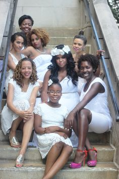 Does this look like an Essence Magazine cover or what? My bridal shower was the best!