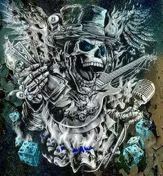Wild Pictures, Skull Pictures, Dark Pictures, Dark Pics, Black White Art, Black And White Drawing, Crane, Badass Skulls, Dark Art Tattoo