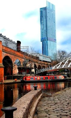 Manchester Hilton from Castlefield, England (by Ardent Photography on Flickr) Saved for you by Venus Flowers,Manchester, your florist in Manchester.