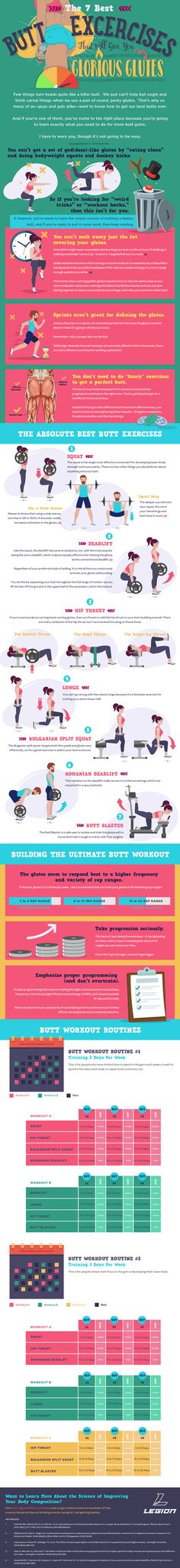 The 7 Best Butt Exercises That Will Give You Glorious Glutes