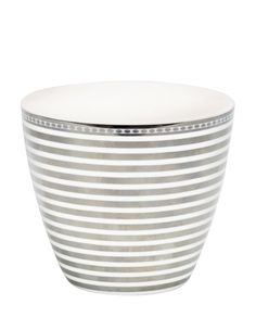 Greengate Stripe Latte Cup silver One Size 13,90.-