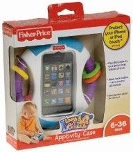 Fisher-Price Laugh & Learn Apptivity Case - Babies adore to play with grown-up gadgets-if you've a clever telephone, odds are your baby likes it as substantially as you do! This sturdy situation will defend your iPhone® or iPod touch® from dribbles, drool, and unwanted call-making. And it can offer you peace of mind as child enjoys Face Time with family members or friends. For young children ages six months and up.