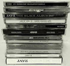 Jay-Z Albums  http://voices.yahoo.com/the-soundtrack-jay-z-12438109.html?cat=33