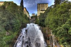 Waterfall in the historic spa town of Bad Gastein south of Salzburg Salzburg, Monte Carlo, Ski Wm, Bad Gastein, Ethereal Beauty, Alps, Great Photos, Austria, Paradise