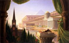 Thomas Cole...Architect's Dream...so lucky to have this at the Toledo Museum of Art!