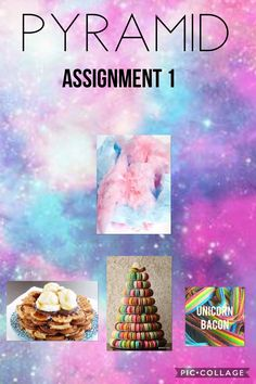Here is pyramid for assignment one. Olivia since you are on top you get to create a board cover.