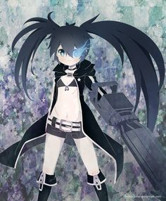 .Black Rock Shooter. by lNeko-Hime.deviantart.com on @DeviantArt