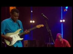 """Robert Cray and his band perform """"Right Next Door"""" & """"12 Year Old Boy"""" at the Montreux Jazz Festival in 2005."""