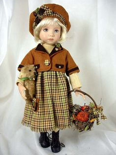 "Autumn Treasures for 13"" Dianna Effner Little Darlings"