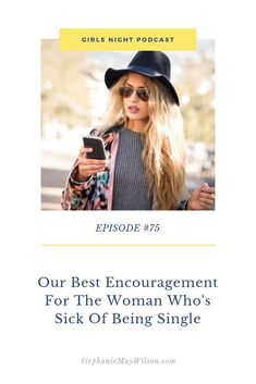 Our best encouragement for the woman who's sick of being single! Married Quotes, Feeling Defeated, Godly Relationship, Today Episode, Waiting List, Single Life, Career Coach, Enjoy Your Life, Christian Women