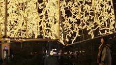 brut deluxe adorns berlin with holiday light installations - designboom | architecture