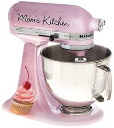 YES PLEASE!!!   I WANT THIS!!!  CHEFS Moms Kitchen Limited Edition KitchenAid Artisan Stand Mixer