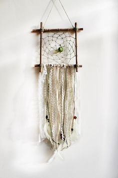 Hey, I found this really awesome Etsy listing at https://www.etsy.com/listing/227821217/square-dream-catcher-bohemian-wall