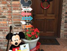 "Mickey Mouse Clubhouse / Birthday ""Jax's Clubhouse First Birthday Bash"" 