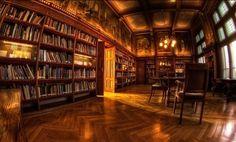 Private Library Biltmore House | El Paraíso debe ser... ~ Club de la Buena Estrella