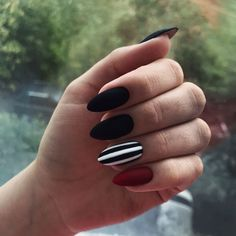 24 Ideas For Nails Cute Dark Manicures 24 Ideas For Nails Cute Dark Manicures The post 24 Ideas For Nails Cute Dark Manicures appeared first on Berable. 24 Ideas For Nails Cute Dark Manicures Dark Nails, Matte Nails, Stiletto Nails, Long Nails, My Nails, Glitter Nails, Perfect Nails, Gorgeous Nails, Stylish Nails