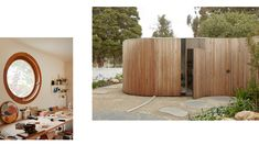 'Park Life' by Architecture Architecture pays honours its Williamstown North heritage with this genius renovation to a house. Australian Architecture, Australian Homes, 1940s Home, Dome Ceiling, Wood Trunk, High Walls, Curved Glass, Beach Shack, Red Bricks