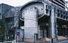 大分県医師会館 by 磯崎新, 1960 Oita Prefecture Medical Hall by Isozaki Arata, 1960