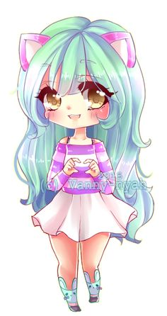 Suzuki by Vanny-nyah on DeviantArt Chibi Kawaii, Cute Anime Chibi, Cute Anime Pics, Kawaii Art, Kawaii Girl Drawings, Cute Animal Drawings Kawaii, Cute Drawings, Princesas Disney Zombie, Dibujos Anime Chibi