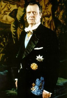 Portrait of Grand Duke Vladimir Kyrilovich of Russia in white tie, wearing the star and sash of the Order of Saint Andrew and the Malteser chain and badge as Protector of the Russian Grand Priory of the Order of Saint John