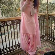 Beautiful Baby Pink Color Rayon Patiyala Suit - Patiala Suits - Suits and Dress material - Womenswear Pakistani Dress Design, Pakistani Dresses, Indian Dresses, Indian Outfits, Indian Clothes, Patiala Suit Designs, Salwar Designs, Kurti Designs Party Wear, Dress Designs