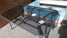 Patio Table with Glass Top | New Germany | Gumtree South Africa | 159887102