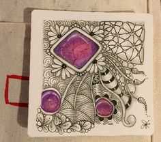 https://flic.kr/p/PK3ghk | Zentangle Gems