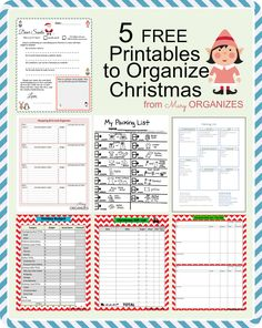 Sometimes I'm a professional organizer, but more of the time I'm a mom trying to organize life for my four kids. Christmas time should be fun and magical, not stressful and frenzied. Getting organi. Christmas Planner Free, Christmas Gift List, Holiday Planner, Christmas Planning, Christmas Printables, All Things Christmas, Winter Christmas, Christmas Holidays, Christmas Nativity