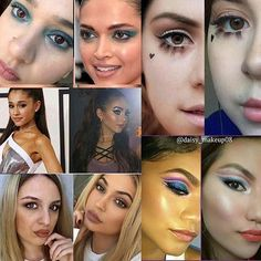 It was such a pleasure doing this celebrity inspired makeup look with this amazing people �� Thank @theofficialjackie for hosting this... Check out this talented people  @makemeuphazel - Shakira @makeupmiistress - Deepika P. @beautyqueenjackie - Selena G @make_up_with_lu - Gwen S @makeupbysweetsara - Demi L @felicianojourney @helengletz - Taylor M @mue_jd_evil - Jeffree S @moorefinesse - JLo @grenathegreat- Kendall J @romyhernandez87 @feena_makeup93 -Priyanka C @makeupbycamb -Rihanna…
