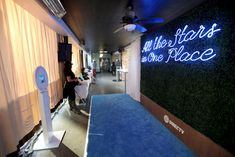 AT&T was the festival's largest sponsor. The brand—along with partner DirecTV—created a blue carpet and a photo booth that...