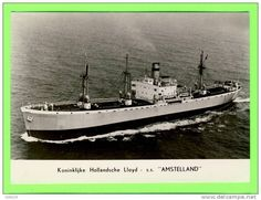 SS Amstelland. Amstelland NetherlandsWorld War II: The cargo ship was bombed and damaged in the Atlantic Ocean (54°12′N 16°00′W) by Luftwaffe aircraft. She was taken in tow by abandoned on 28 February and sank