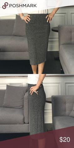 NWT -Below the knees, black and white marble skirt Brand new never been worn skirt. Old Navy Skirts Midi