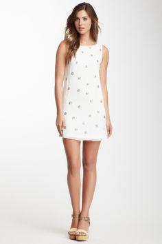 Renee C Sequin Polka Dot Dress on HauteLook