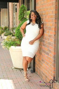 My Style: Ashley Stewart Scallop Lace Dress (Pics) http://www.talkingwithtami.com/my-style-scallop-lace-zip-ba…