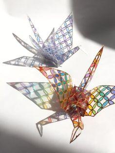 Creative Crafts, Diy Crafts For Kids, Fun Crafts, Arts And Crafts, Japan Crafts, Origami Paper Art, Diy Resin Crafts, Resin Jewelry, Resin Art
