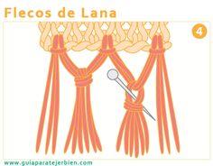 Flecos de lana. Guía Para Tejer Bien