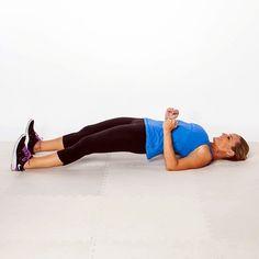 The Sexy Back Workout - 8 moves to banish bra bulge, back pain, and bad posture - Full-Body Bridge